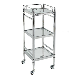 Pinnacle Chrome Bathroom Cart
