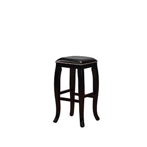 Scottish Black 30-Inch Bar Stool