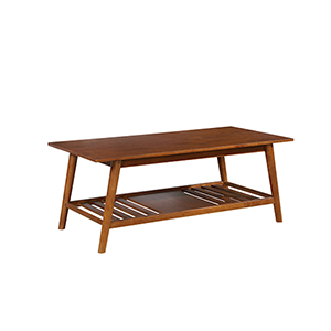 Charlotte Brown Coffee Table