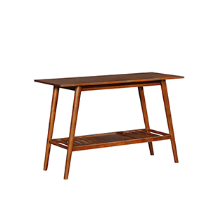 Charlotte Brown Console Table