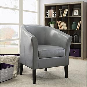Sadie Dark Gray Club Chair