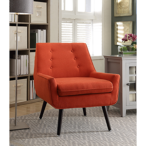Tiffany Pimento Upholstered Chair