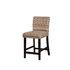 Miller Coconut 24-Inch Counter Stool