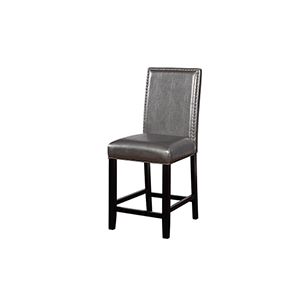 Stevie Pewter 24-Inch Counter Stool