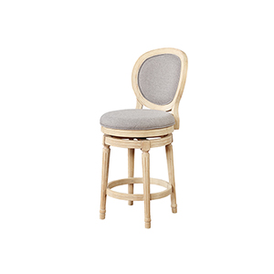 Coco White Wash 24-Inch Counter Stool