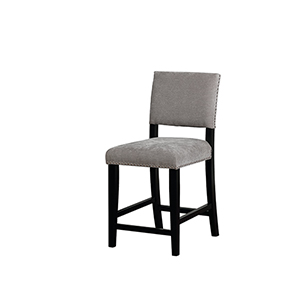 Clayton Dark Gray 24-Inch Counter Stool