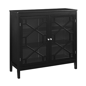Felicia Black Large Cabinet