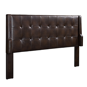 Lenna Sable Upholstered King Headboard