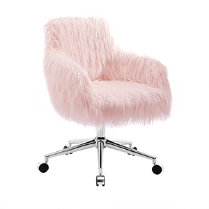 Fiona Pink Office Chair
