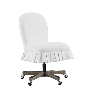 Penny White Office Chair