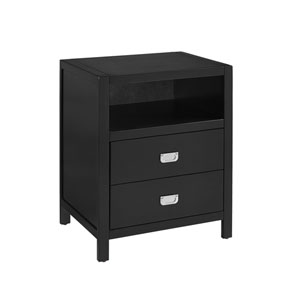 Peggy Black End Table