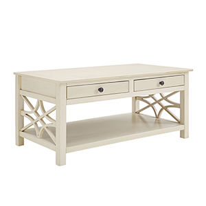 Whitley Antique White Coffee Table