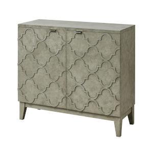 Alcazaba Revere Gray Concrete 36-Inch Two-Door Cabinet
