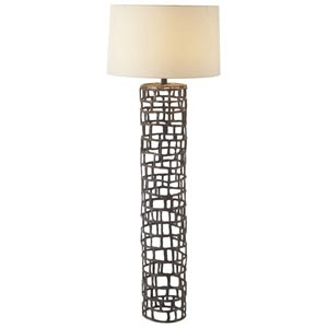 Hansel Natural Iron Floor Lamp