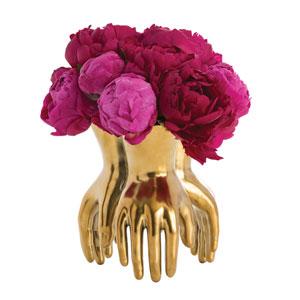 Piedmont Gold Vase