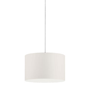 Grannus White 20-Inch One-Light Pendant