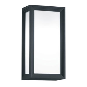 Timok Dark Grey One-Light Outdoor Wall Sconce