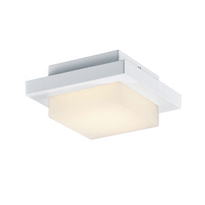 Hondo White LED Outdoor Wall Sconce