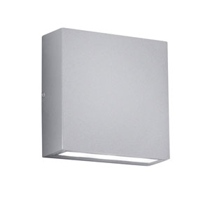 Thames Titanium and Light Grey LED Outdoor Wall Sconce