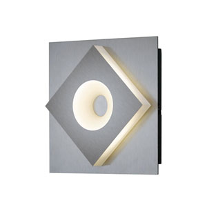 Atlanta Matte Nickel 6-Inch LED Wall Sconce