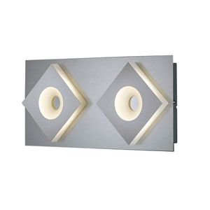 Atlanta Matte Nickel 16-Inch LED Wall Sconce