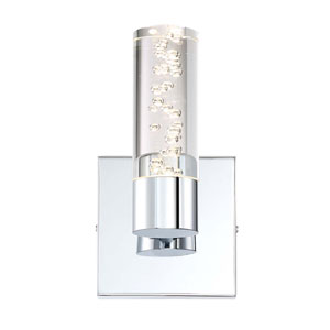 H2O Chrome 4-Inch LED Bathroom Light