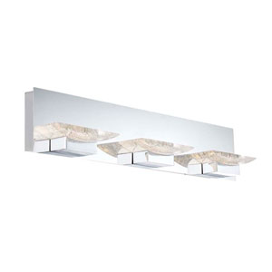 H2O Chrome 28-Inch LED Bathroom Light