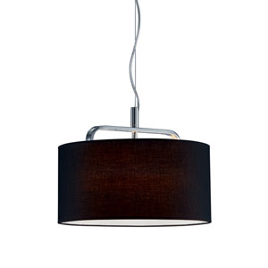 Cannes Chrome One-Light Pendant