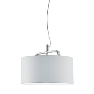 Cannes Matte Nickel One-Light Pendant