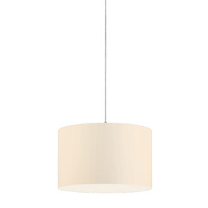 Grannus White 16-Inch One-Light Pendant