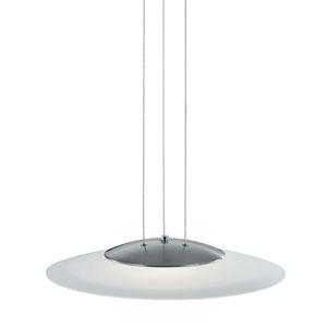 Dakar Matte Nickel LED Pendant