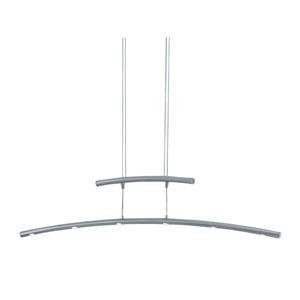 Columbus Matte Nickel LED Pendant