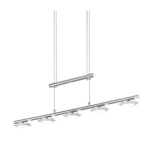 Santiago Matte Nickel 34-Inch LED Pendant