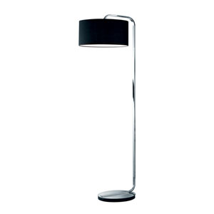Cannes Chrome One-Light Floor Lamp