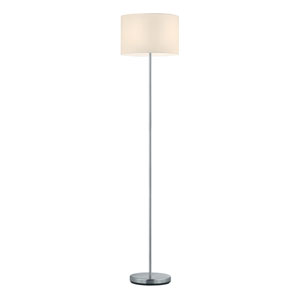 Grannus Silver Two-Light Floor Lamp