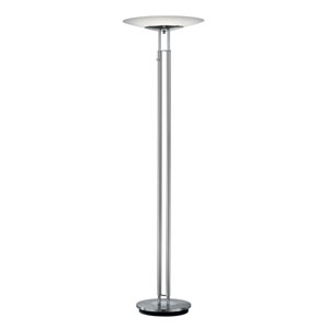 Dubai Matte Nickel LED Torchiere