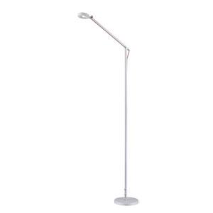 Amsterdam White LED Floor Lamp