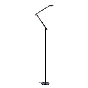 Amsterdam Black LED Floor Lamp