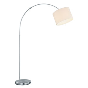 Grannus White One-Light Floor Lamp