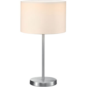 Grannus White 12-Inch One-Light Table Lamp