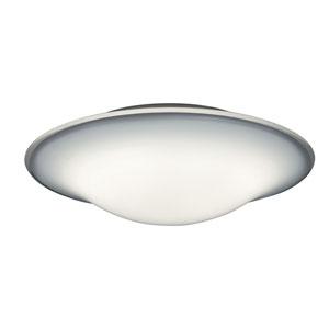 Milano White 18-Inch LED Flush Mount