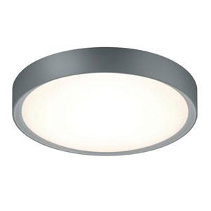 Clarimo Titanium and Light Grey LED Flush Mount