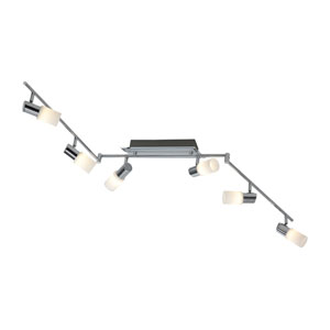 Dallas Aluminum 59-Inch  LED Adjustable Track Light