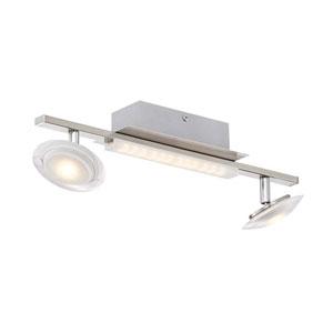 Santiago Matte Nickel 5-Inch LED  Flush Mount
