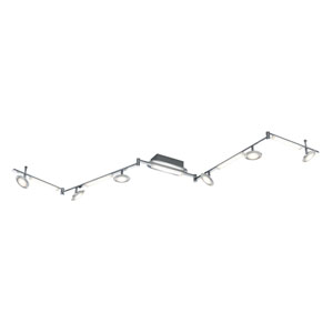 Santiago Matte Nickel 91-Inch LED  Spot Light