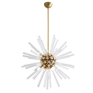 Hanley Clear Eight-Light Small Chandelier