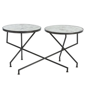 Ishani Natural Iron Accent Table