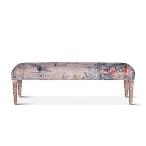 Algiers Multicolor Upholstered Bench