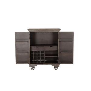 Anderson Gray Bar Cabinet