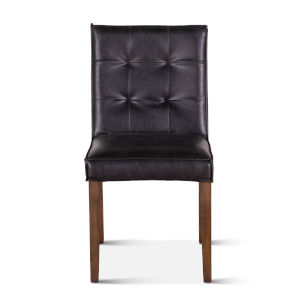 Avery Black and Brown Dining Chair, Set of 2